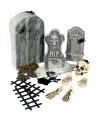 Horror kerkhof versiering set 24 delig